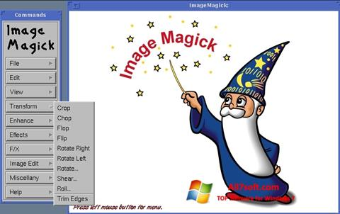 스크린 샷 ImageMagick Windows 7
