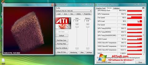 스크린 샷 ATITool Windows 7