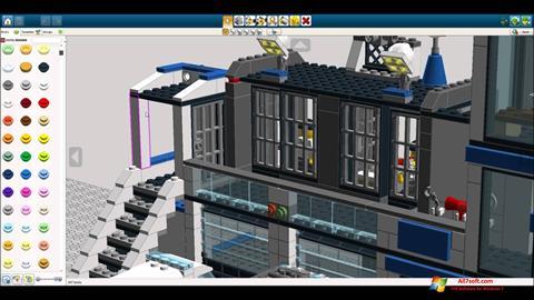 스크린 샷 LEGO Digital Designer Windows 7