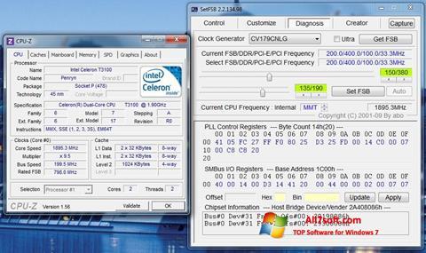 스크린 샷 SetFSB Windows 7
