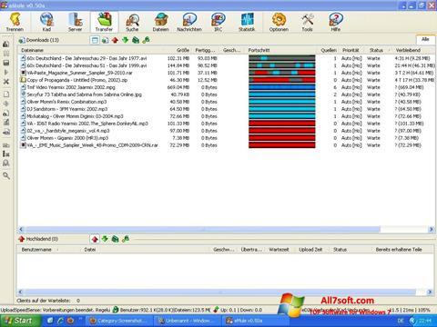 스크린 샷 eMule Windows 7
