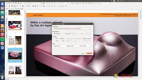 스크린 샷 Master PDF Editor Windows 7