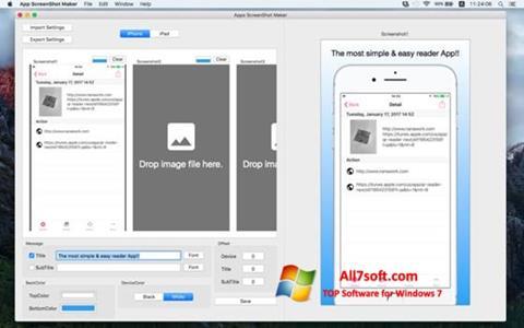 스크린 샷 ScreenshotMaker Windows 7