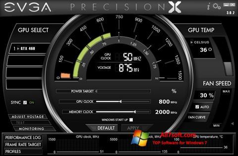 스크린 샷 EVGA Precision X Windows 7