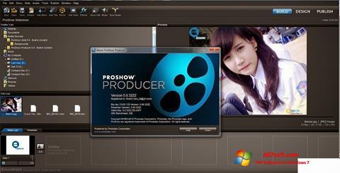 스크린 샷 ProShow Producer Windows 7