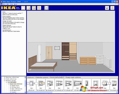 스크린 샷 IKEA Home Planner Windows 7