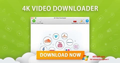 스크린 샷 4K Video Downloader Windows 7