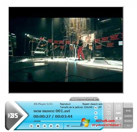 스크린 샷 BSPlayer Windows 7