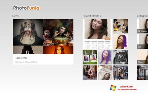 스크린 샷 PhotoFunia Windows 7
