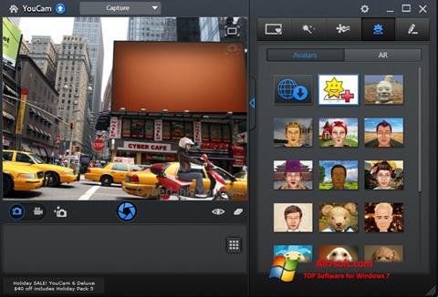 스크린 샷 CyberLink YouCam Windows 7